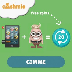 Cashmio gratis spins gonzo's quest