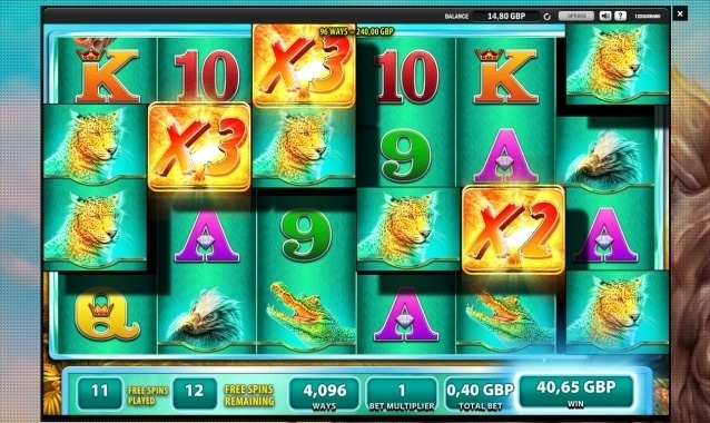 Raging Rhino WMS pokie review
