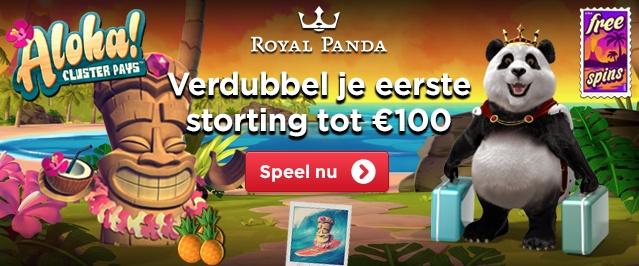 Royal panda casino welkomstbonus