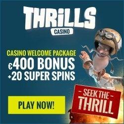 thrills 20 super spins