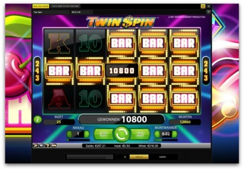 twinspin netent big win