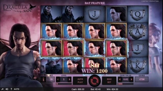 Dracula Netent gokkast screenshot4