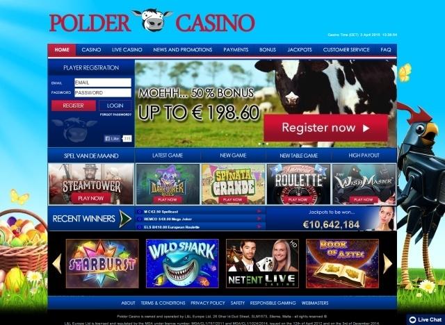 gratis spins polder casino