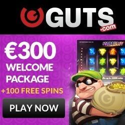 guts gratis spins bonus
