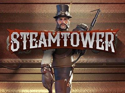 steamtower netent hoog uitkeringspercentage