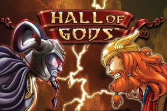 Hall of Gods progressieve jackpot