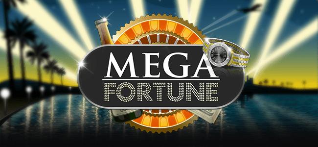 mega fortune Netent progressieve gokkast