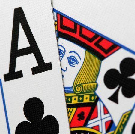 Black jack kaarten