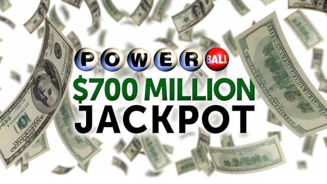 700 miljoen dollar powerball loterij