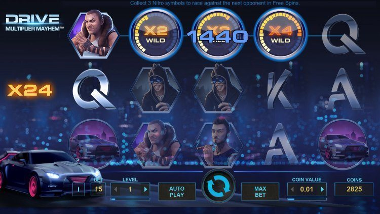 Drive-multiplier-mayhem-netent big win