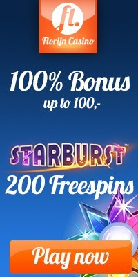Florijn casino 200 gratis spins Starburst