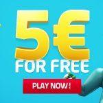 Lucky Dino 5 euro gratis bonus zonder storting