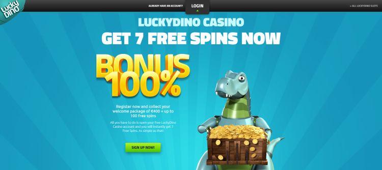 Lucky Dino casino review bonus