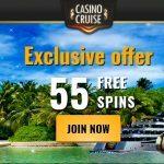 Casino Cruise 55 gratis spins zonder storting