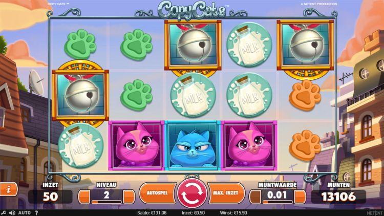 Nieuwe gokkast van netent copy cats