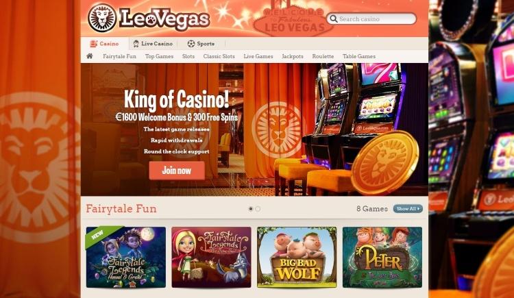LeoVEgas beste casino