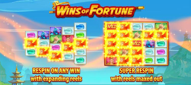 Wins of Fortune nieuw van Quickspin