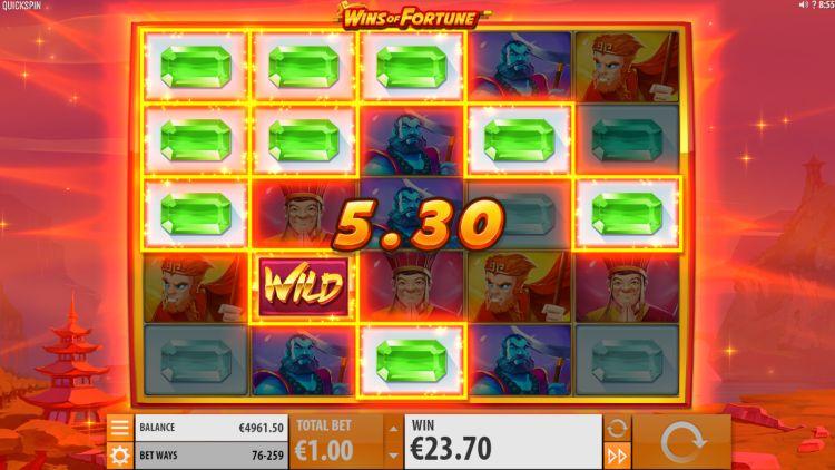 Wins of Fortune nieuwe gokkast quickspin