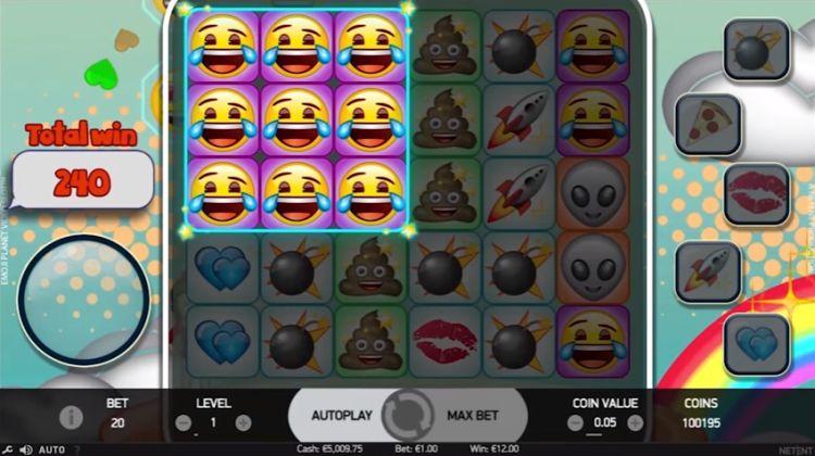 Emojiplanet nieuwe gokkast Netent