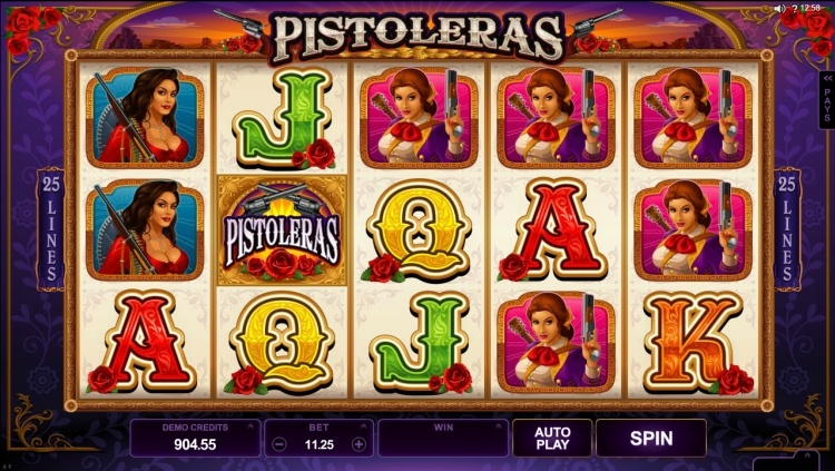 Pistoleras slot review microgaming