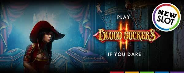 Blood Sucker 2 gratis spins promotie