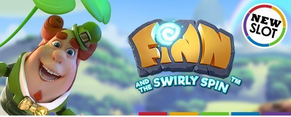 50 gratis spins op Finn and the Swirly Spin