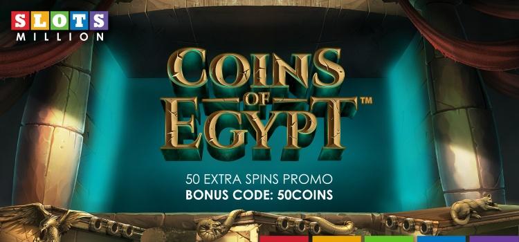 Coins of egypt gratis spins