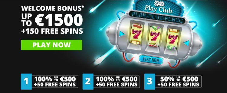 Play Club casino review welkomstbonus 2